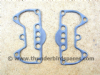 Gaskets, Rocker Box, Pair, Triumph 350/500 1957-74, 70-9511, wire reinforced.